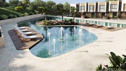 casas casas club vistas santa ana condominio rio oro amenidades piscina dia.jpg