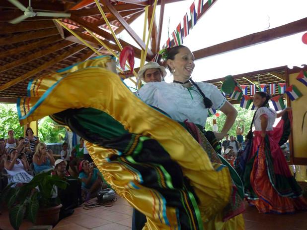 Teachers and students celebrate Costa Ri