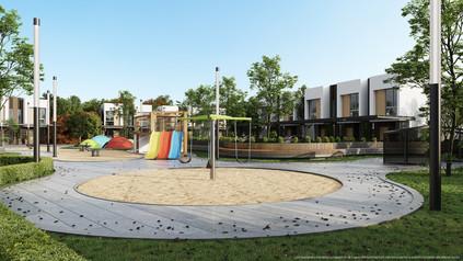 Parque infantil casas club vistas santa ana condominio rio oro amenidades