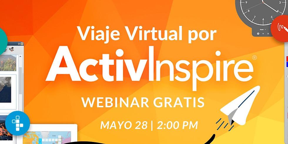Tema: Viaje Virtual por ActivInspire
