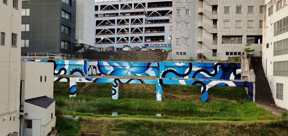水戸駅前壁画プロジェクト 完成写真