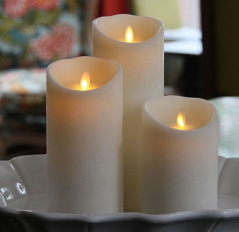moving flame flamless candles