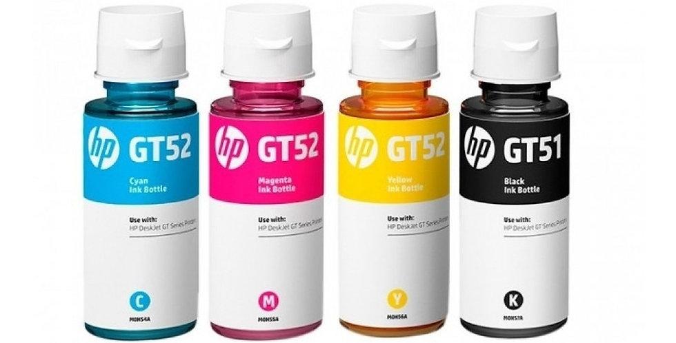 Kit De Tintas Originales HP GT51