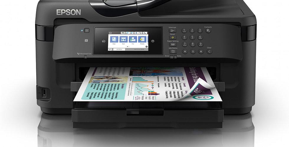 Epson Workforce WF-7710 Con Sistema De Tinta Continuo