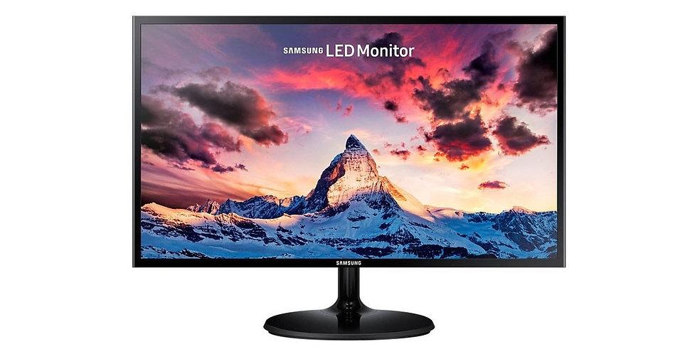 """Monitor Full HD Samsung 24"""" Super Slim LS24F350FHLXZL"""