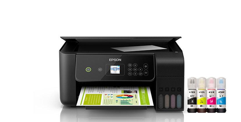 Impresora Multifuncional Epson L3160 Wifi Ecotank Pantalla