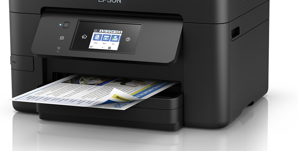 Impresora Multifuncional Epson WORKFORCE WF-3720 Con Sistema De Tinta Continuo