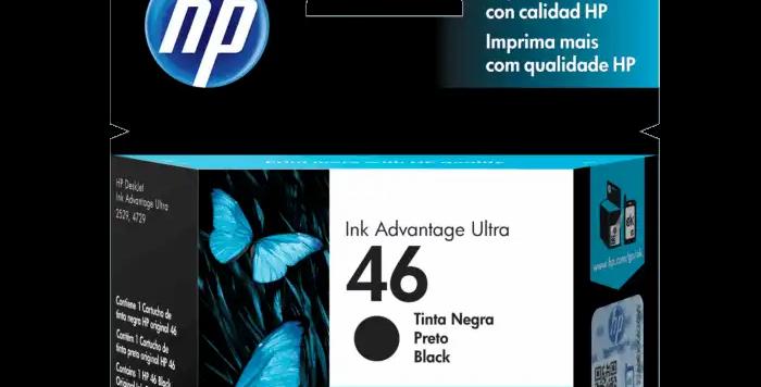 HP Cartucho 46 Negro