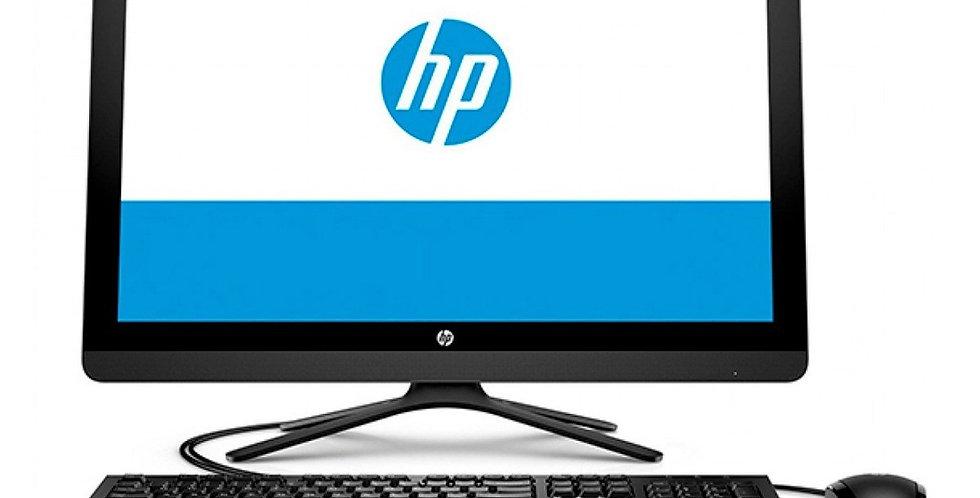 "AIO HP 20-C412LA INTEL DUAL CORE, 4GB DDR4, 1TB HDD, PANTALLA 20"", NEGRO"
