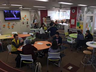 岡山大学グローバルカフェに訪問