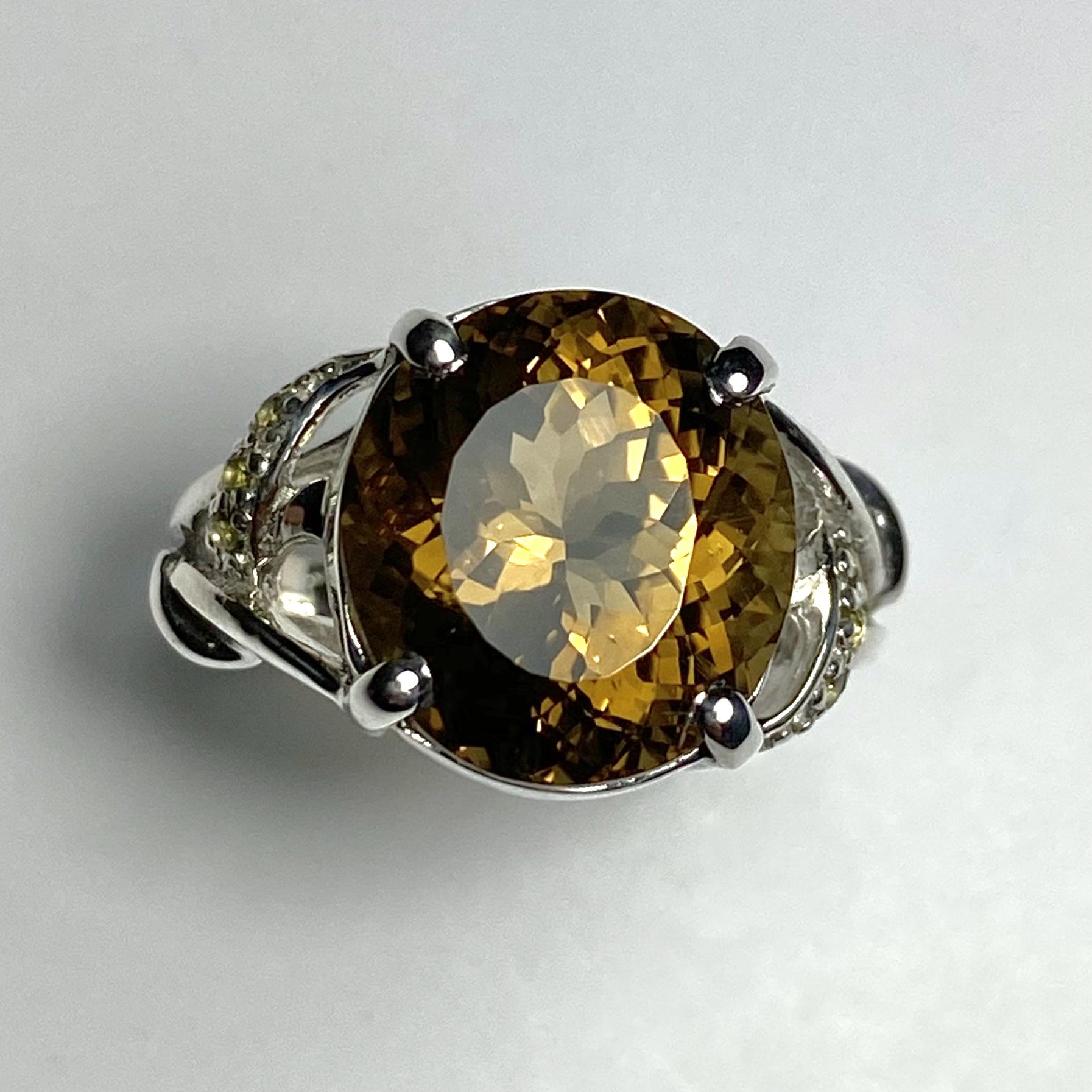 Andesine Labradorite ring