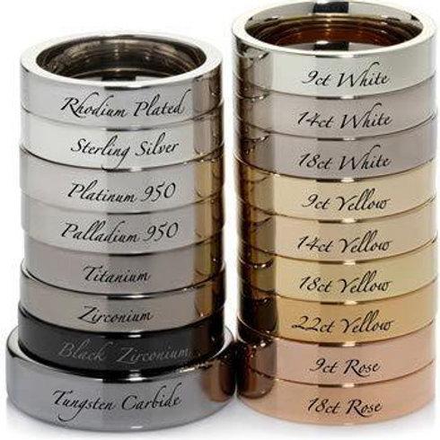 1.25cts Natural Pink Morganite 925 Silver / Gold/ Platinum ring