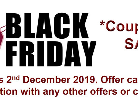 BLACK FRIDAY SALE is now on