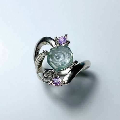 1.95ct Natural Emerald 925 Silver / Gold/ Platinum ring