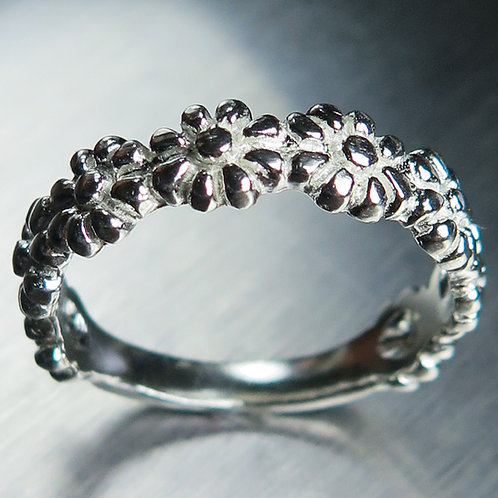 Wedding band 925 Silver / Gold/ Platinum ring