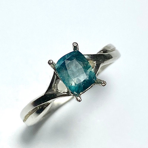 0.6cts Natural Grandidierite 925 Silver / Gold/ Platinum ring