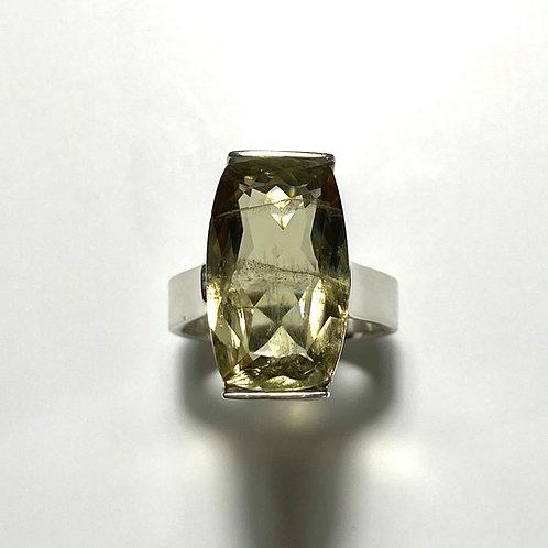 12.95ct Natural Colour change Diaspore 925 Silver / Gold/ Platinum ring