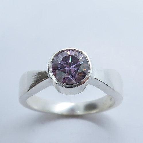 1.2ct Moissanite Lab Diamond 925 Silver / Gold/ Platinum ring