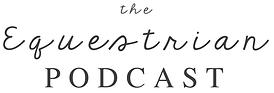 The Equestrian Podcast - logo