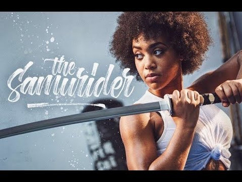 Brixton's stunt queen & martial arts superhero: The Samurider