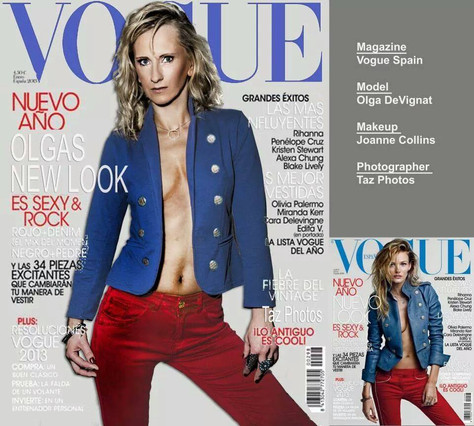 Olga Devignat Hits Vogue Magazine