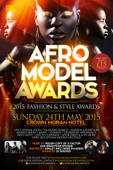 4th Afro Model Awards & After Party