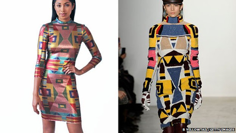 Fashion Week controversy over Native design