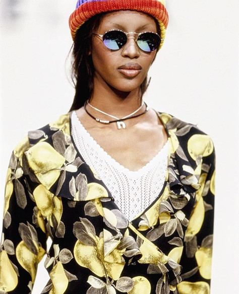 Naomi Campbell Re-Wore Her Look From Marc Jacobs's 1993 Grunge Show