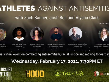 CLIENT SPOTLIGHT: Athletes Against Antisemitism