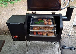 BBQ Tray System for Camping