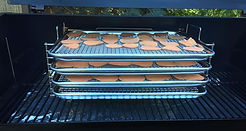 BBQ Tray with Sweet Potatoes