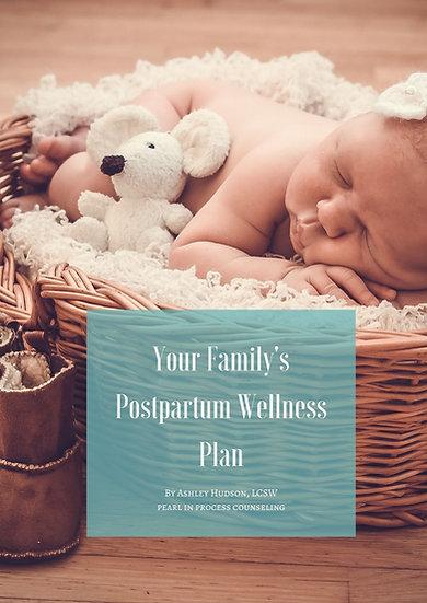 Personalized Postpartum Wellness E-book