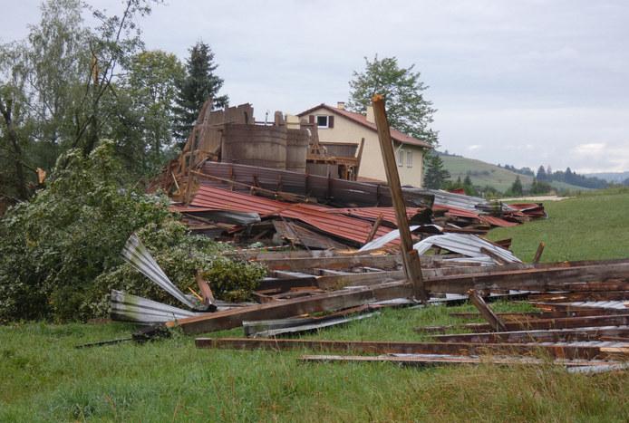 Tornado in Münsigen bestätigt