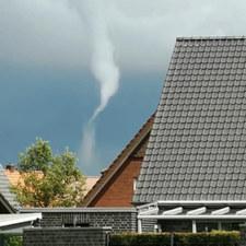 Tornado in Weseke am 25.05.2021