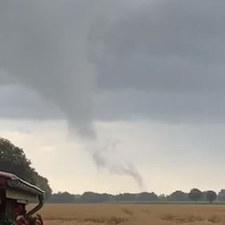 Tornado in Ihausen am 09.08.2021