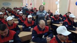 Конкурс сварщиков, г. Уфа, 2012 г.