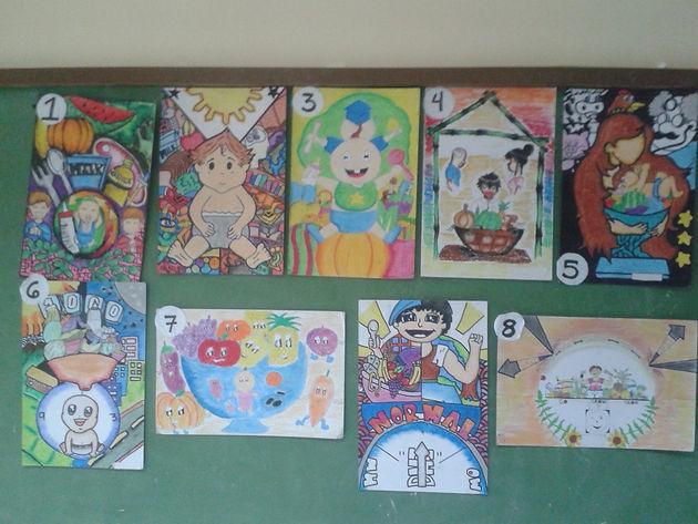poster making contest nutritious recipe contest 1st place david llaneta stem 1st place kurt a burillo mark manocan