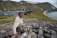 Traditional hunt after Little Auks, Greenland