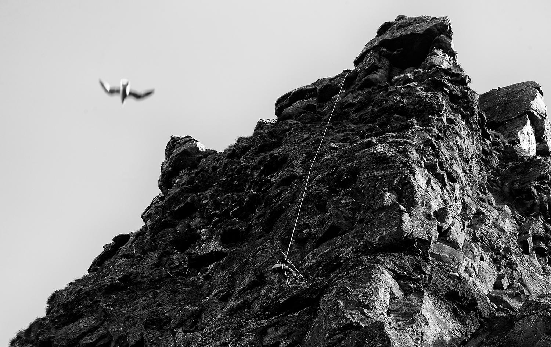 Top climb