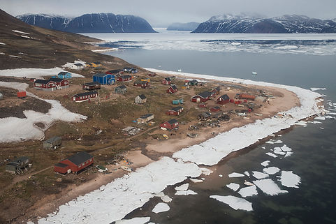 The small settlement Siorapaluk, Thule, Greenland.