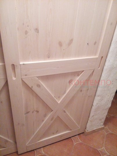 Дерев'яні двері для шафи-купе