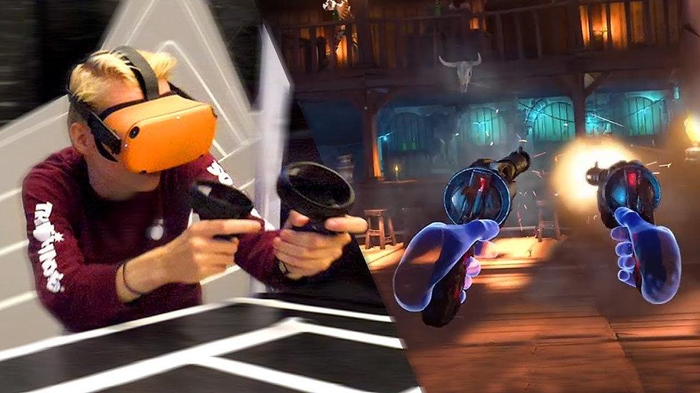 VR Arcade Session