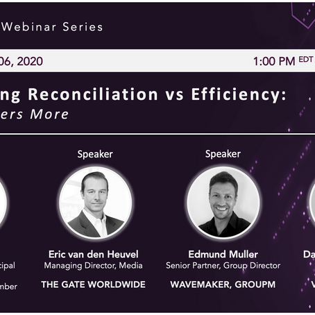 ADVERTISING RECONCILIATION vs EFFICIENCY: What Matters More?