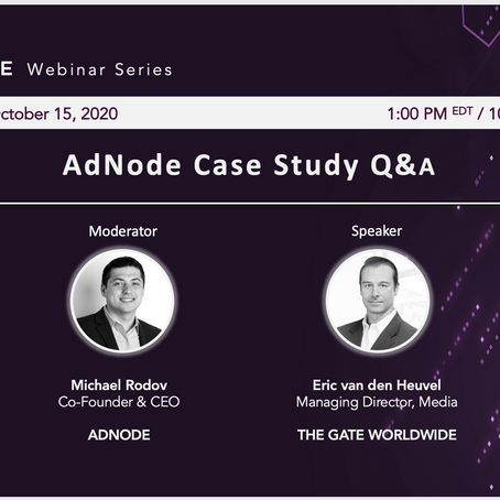 ADNODE CASE STUDY Q&A