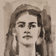 """Young Frida Kahlo"""