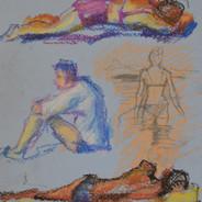 """""""Beach sketches 1"""".jpg"""