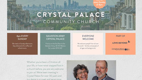 New branding and website for Crystal Palace