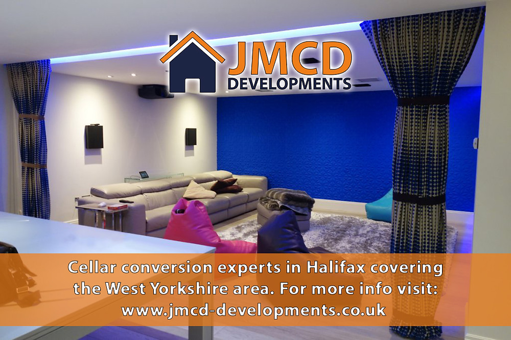 Basement conversion in Halifax West Yorkshire