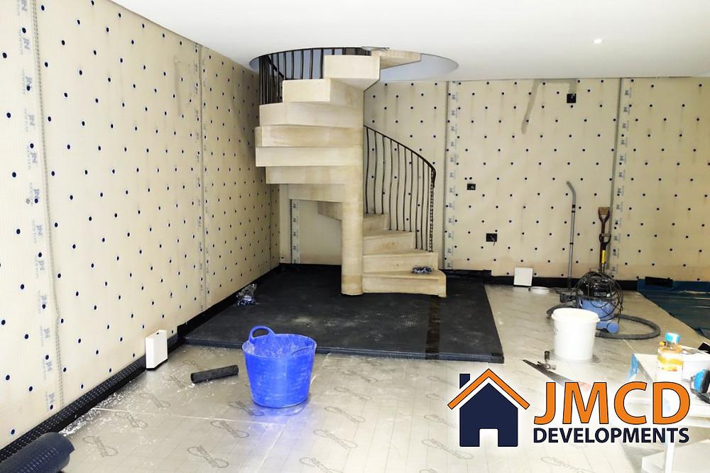 JMCD Developments cellar conversions in Halifax