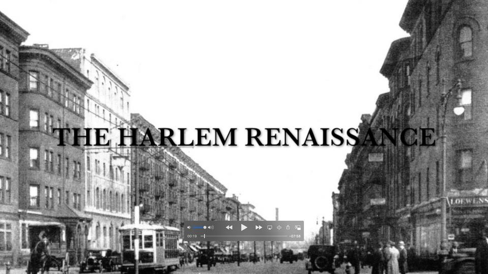 The Harlem Renaissance (Historical Conte